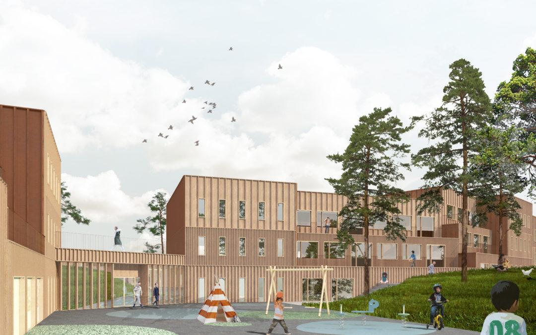 Markanvisning i Värmdö till Turako och Engelska Skolan