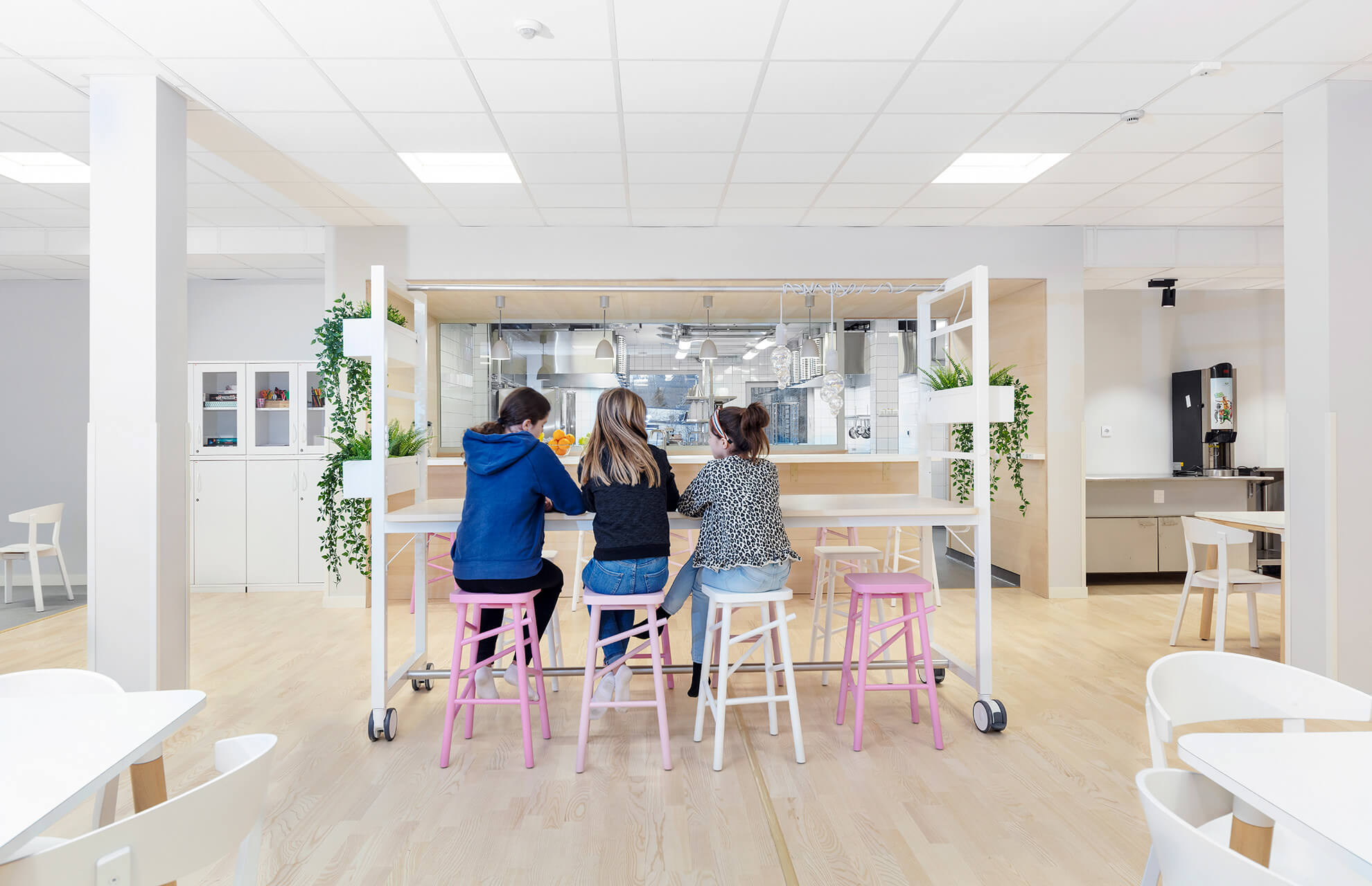 Interiör, matsal - fotograf: Johan Alfredsson, Kinnarps