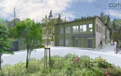 """Turako startar bygget av förskolan """"Boängen"""" i Knivsta"""